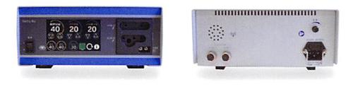 電気メスSacty80(サクティ)・正面と裏面