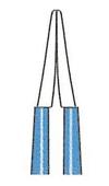 バイポーラフォーセプス ストレート絶縁型(マーチン) 先端の閉じ方
